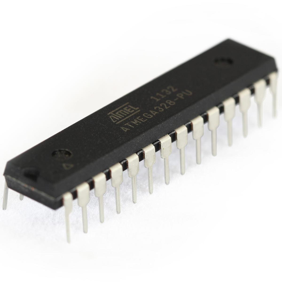 Atmega328p Pu Atmel 8 Bit 32k Avr Microcontroller Protostack Arduino In System Programmer