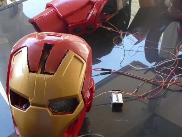 Atmega168 Controlled Iron Man Suit