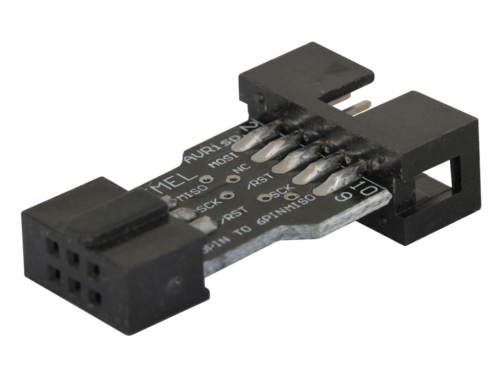 10 pin to 6 pin programming adapter