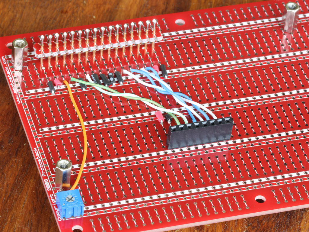 Wiring up Prototyping Board